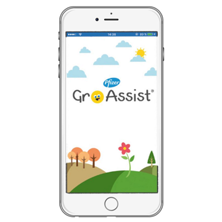 GroAssist App am Smartphone